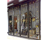 Wrought Iron Folding Gate