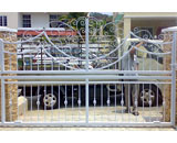 Wrought Iron Sliding Gate