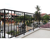 Wrought Iron Railing at Jalan Tari Zapin