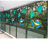 Window Grilles at Chen Su Lan Methodist Children's Home
