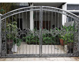 Wrought Iron Driveway Gate at Jalan Limbok