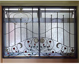 Wrought Iron Window Grilles at Yishun St.22