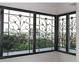 Wrought Iron Window Grilles at Lagoon View