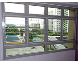 Slim Window Grilles at Punggol Central