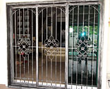 Wrought Iron Sliding Gate at Verde Crescent