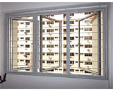 Slim Window Grilles at Pasir Ris Street 71
