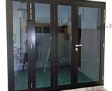 Glass Folding Doors at Ashwood Grove