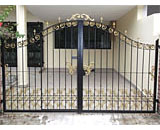 Wrought Iron Driveway Gate at Pasir Ris View