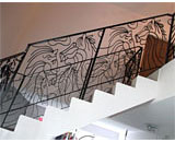 Wrought Iron Staircase Railings at Jurong West Street 42