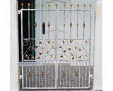 Wrought Iron Gate at Pillai Road