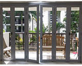Folding Glass Doors at Dairy Farm Estate