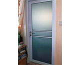 Acrylic Swing Door at Senja Road