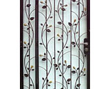 Wrought Iron Floral Gate - PG 20409