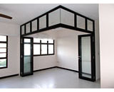 Folding Glass Doors at Fernvale Street