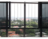 Slim Window Grilles at D'Leedon
