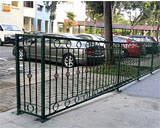 Wrought Iron Fence Railing at Hougang Ave 5