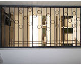 Wrought Iron Grilles at Dawson Road