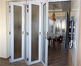 Folding Glass Doors at Pipit Road