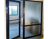 Glass Partition & Swing Door at Tampines St.71