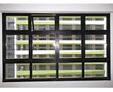 Slim Mild Steel Fixed Grilles