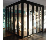 Folding Partition Glass Doors