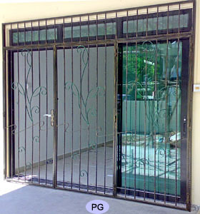 Wrought Iron Swing Sliding And Folding Door Gates