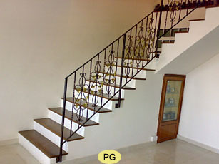 Wrought Iron Staircase Railings